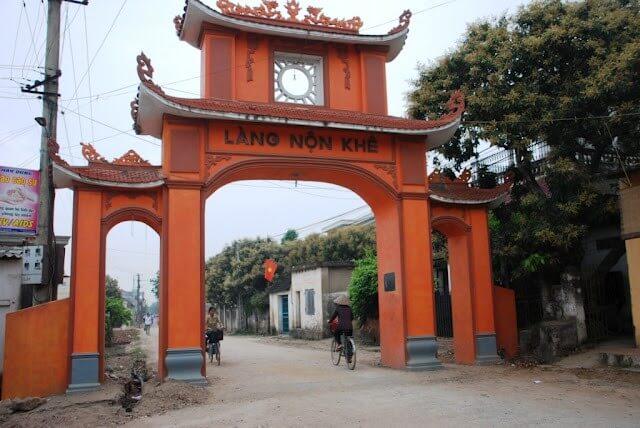 Village de Non Khe, Ninh Binh