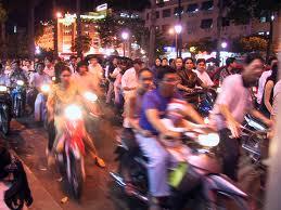 circulation à Hanoi