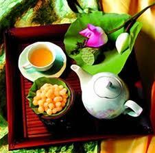 Thé au lotus