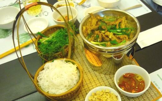 Spécialité vietnamienne Cha Ca La Vong