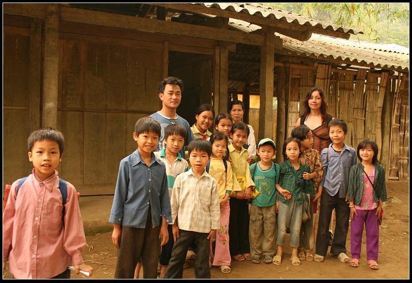 Ecole du village Pac Ngoi