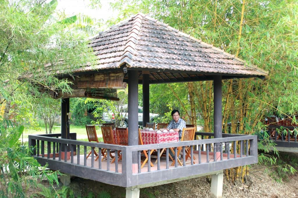 Un endroit idéal pour vivre retrouver l'ambiance de Huê du 19ème siècle
