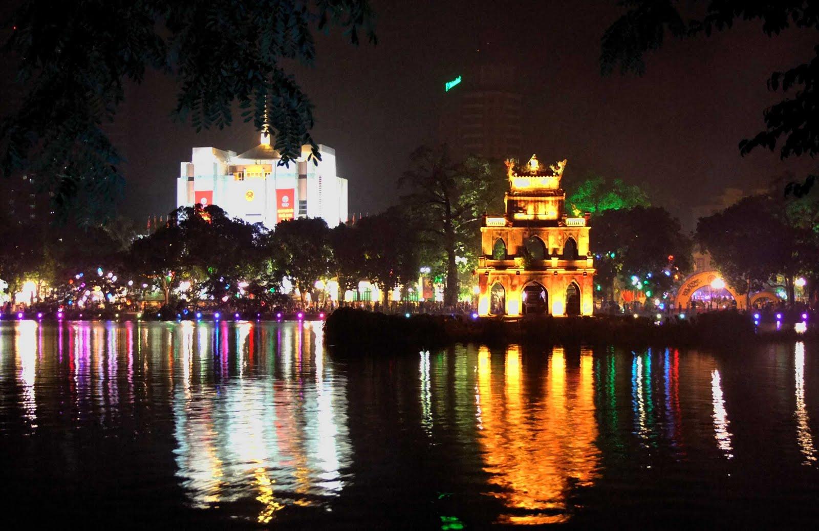 Lac de l'Epée restituée – Hanoi