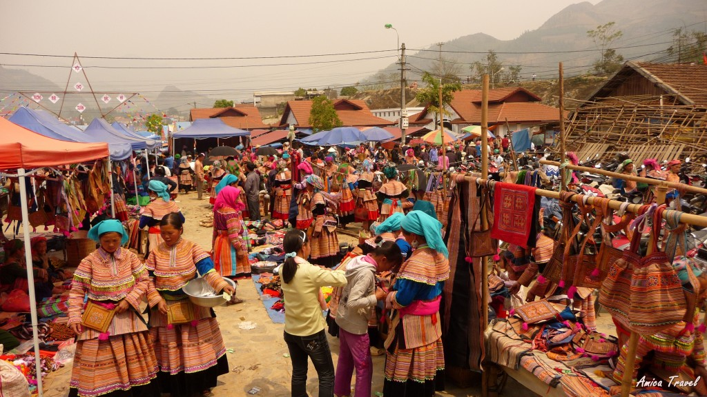Marché de Bac Hà