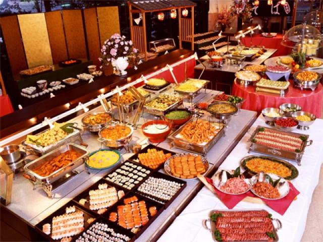 Buffet au Restaurant Sen Tay Ho