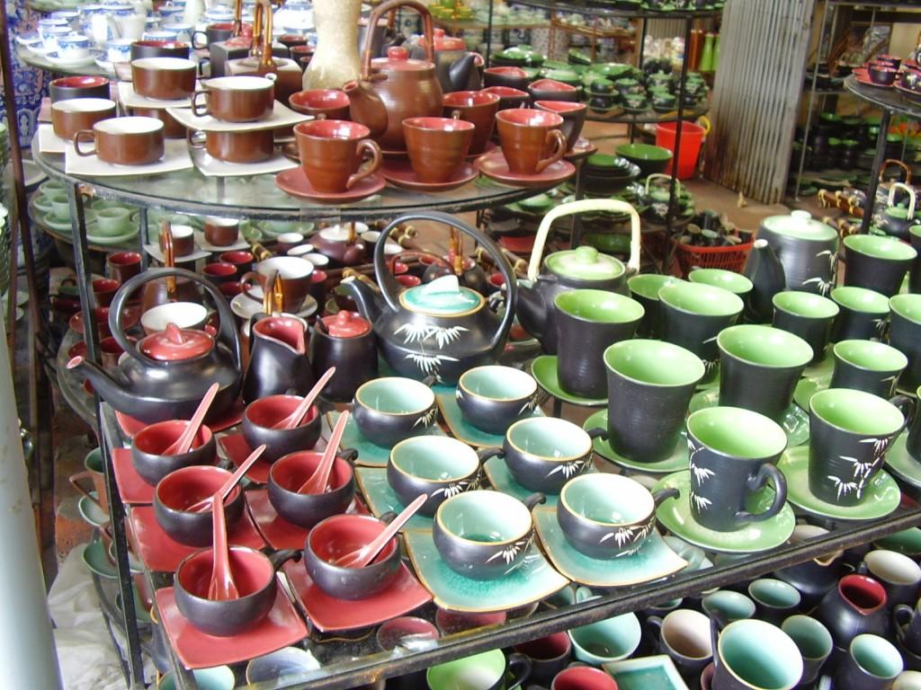 Le village de céramique Bat Trang