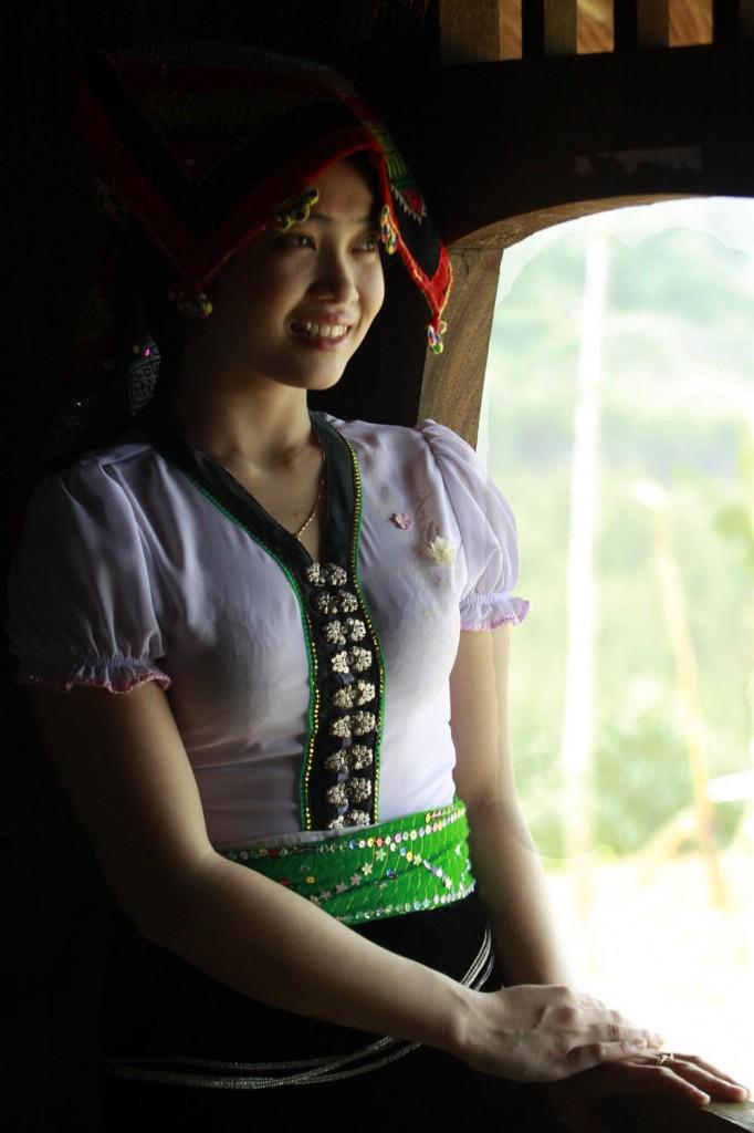 Une femme de l'ethnie Thai