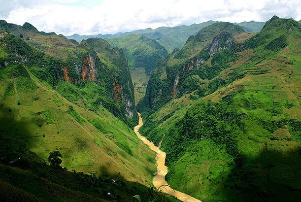 Route à Ha Giang