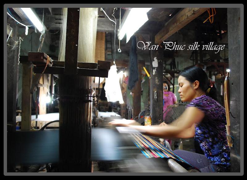 Village de la soie Van Phuc