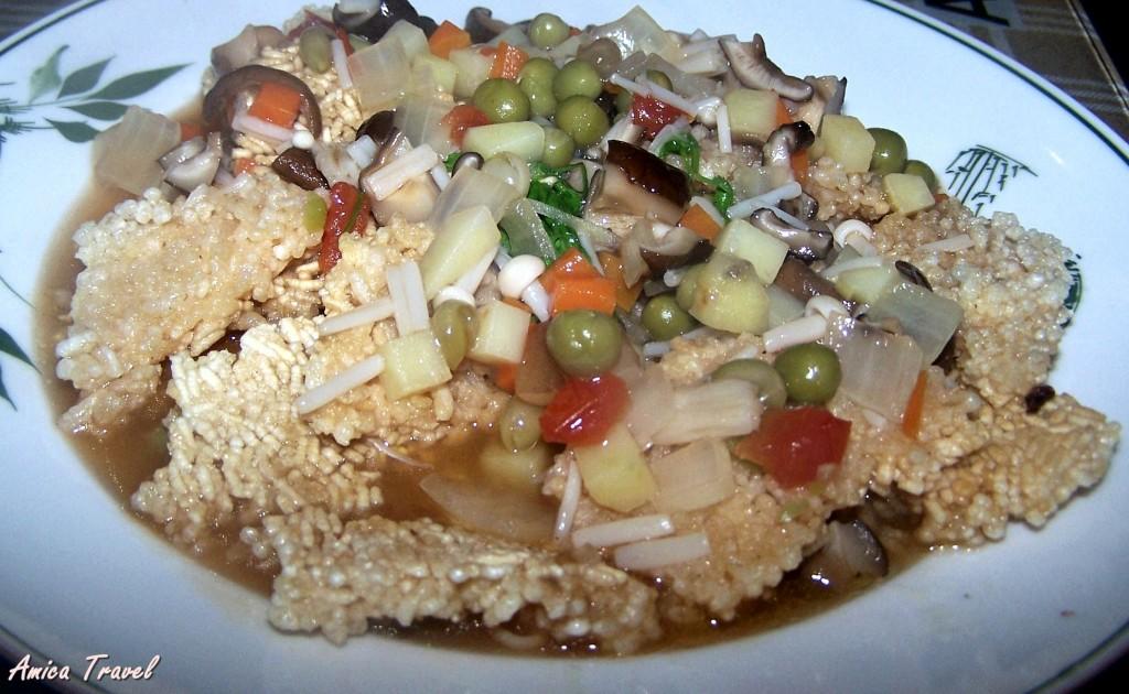 Com chay de Ninh Binh - Gratin de riz