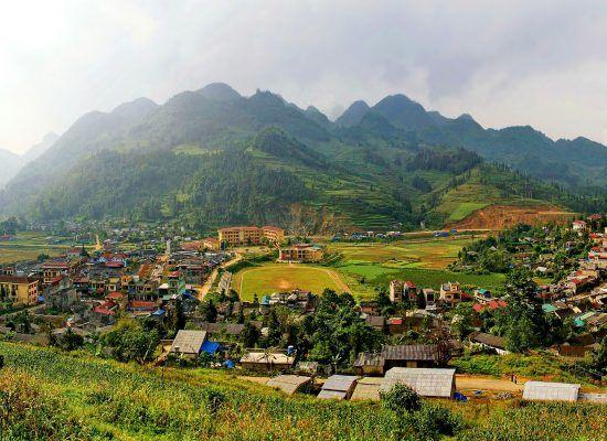 Le district Muong Khuong, Lao Cai
