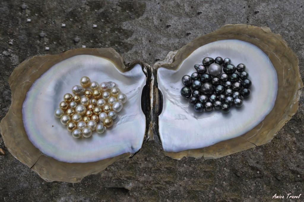 Perles fabriquées sur l'île de Phu Quoc