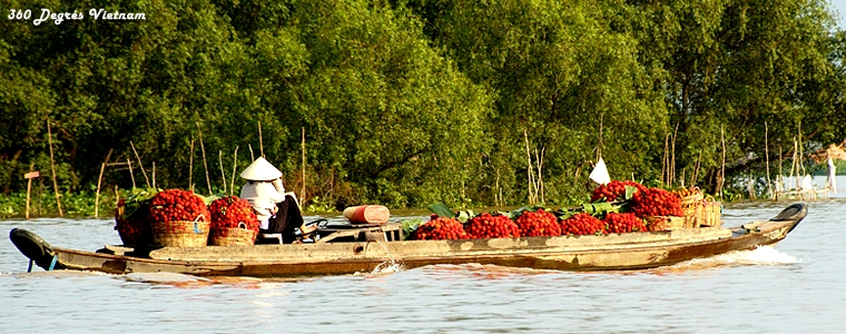 Le marché flottant de Cai Rang