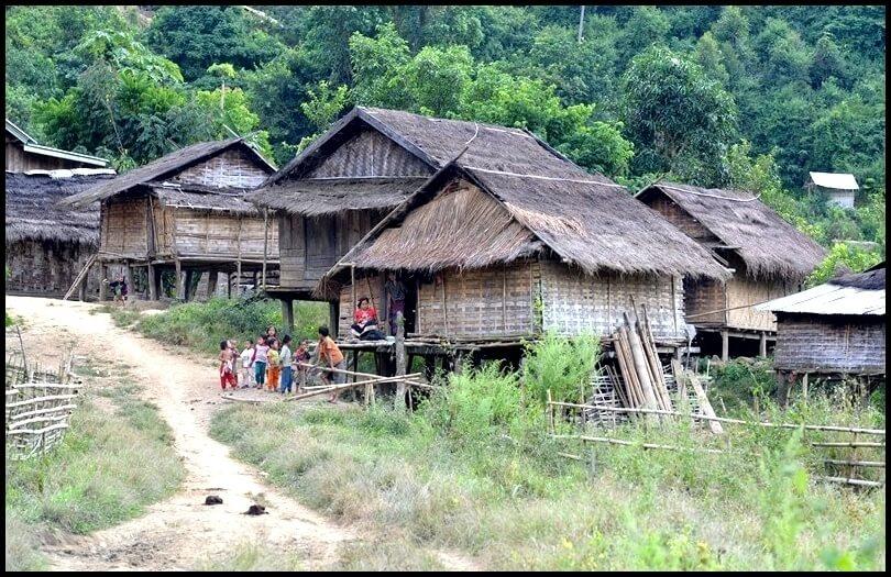 Le village de Bwom Niao