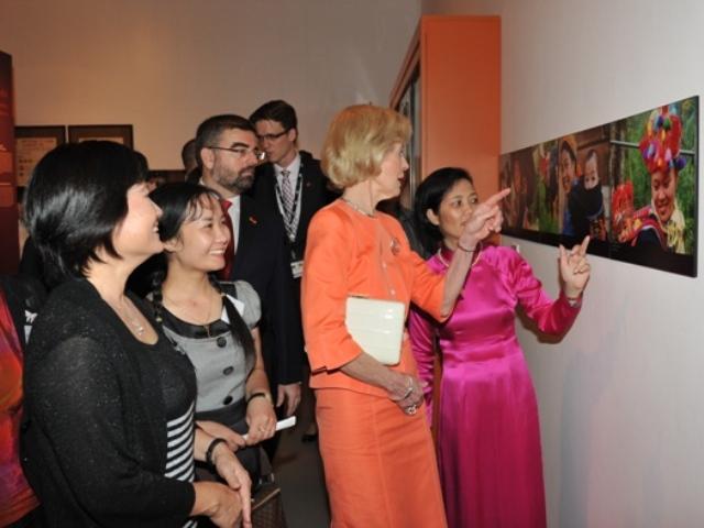 Le musée attire beaucoup de visiteurs étrangers