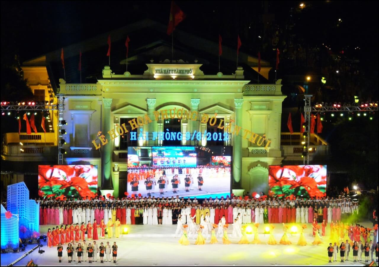 Festival des flamboyants HaiPhong 2012