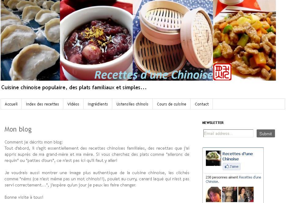 Voyage gastronomique travers des meilleurs blogs de cuisine for Apprendre la cuisine chinoise