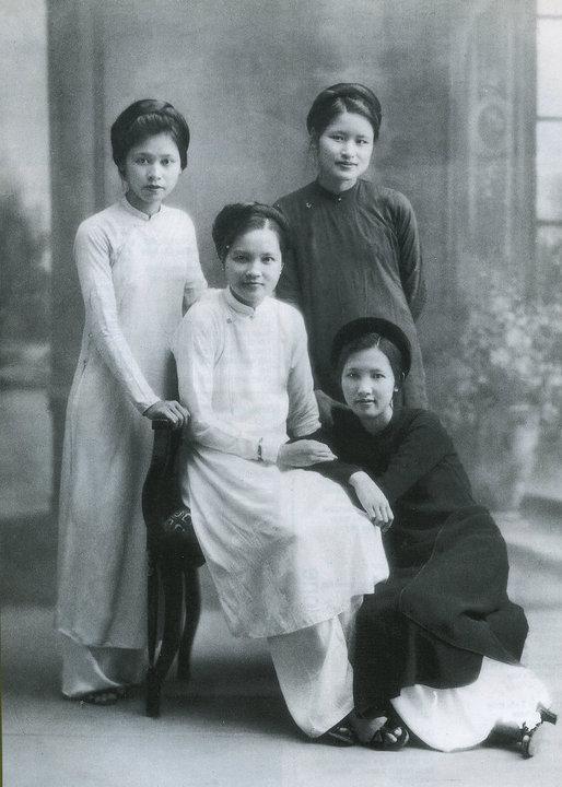 Le Ao dai au début du 20 è siècle