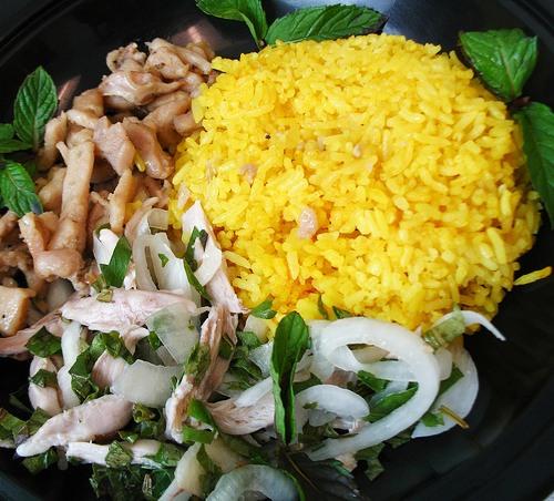 Riz au poulet- une des spécialité de Hoi An