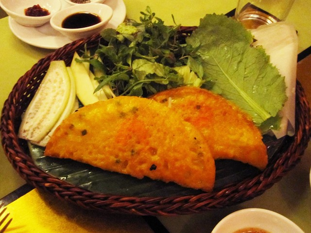 Les crêpes (banh xeo) Hoi An (Photo: roofsupdotcom)