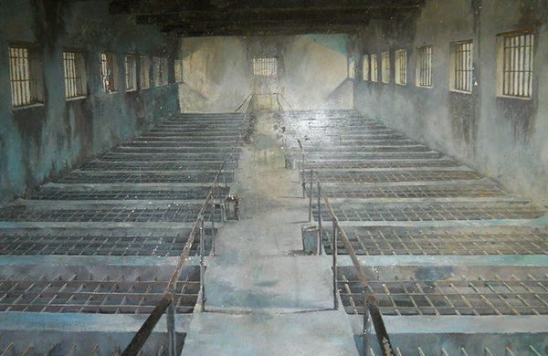 prison vietnam, cage vietnam