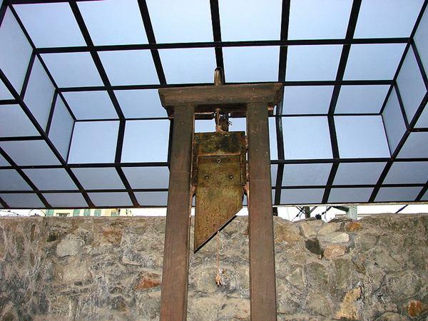guillotine française