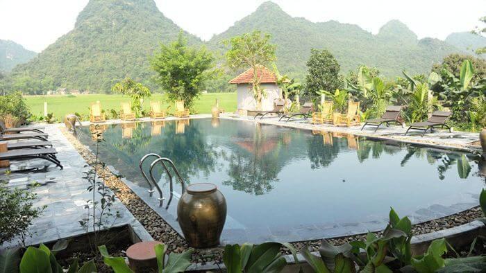 La piscine répondant au standard international