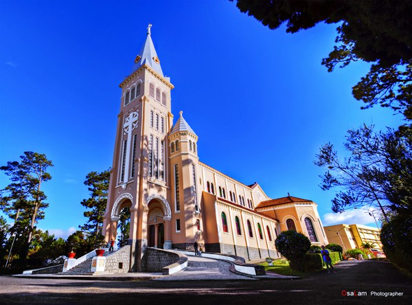 Cathédrale de Da Lat ( Photo: Osalam )