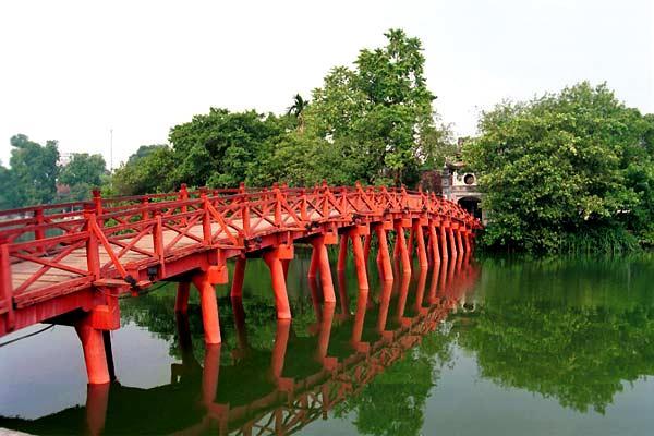 Temple de Ngoc Son à Hanoi