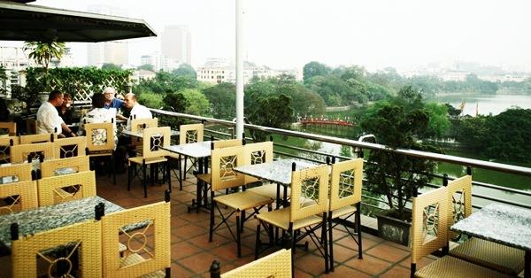 City View Cafe - restaurant avec vue sur le lac Hoan Kiem à Hanoi