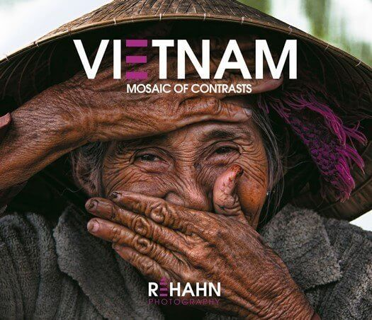 """Livre """"Vietnam - Mosaic of constrats"""" par Réhahn CROQUEVIELLE"""