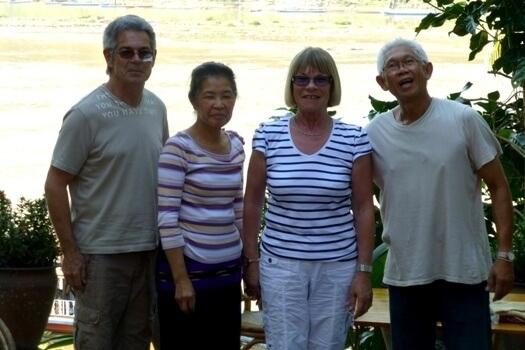 Rencontre avec Vong et Thi LP au Laos en 2013