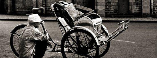 cyclo pousse de saigon