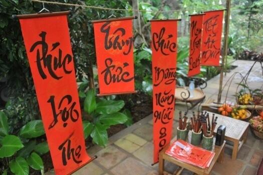 tet calligraphie vietnam