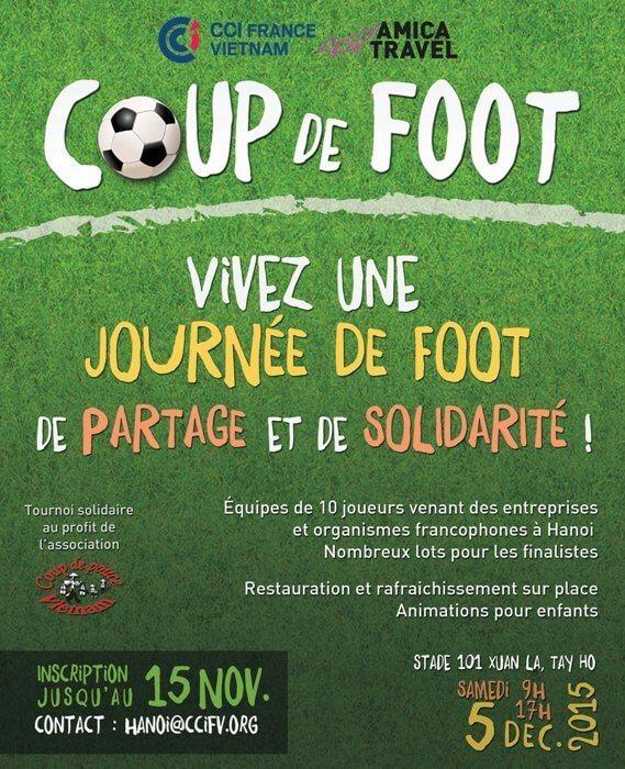 Coup de foot 2015 f te de la solidarit des amis for Chambre de commerce francaise au vietnam