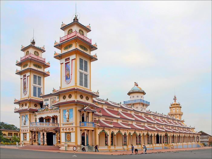 Le Grand Temple de Tay Ninh