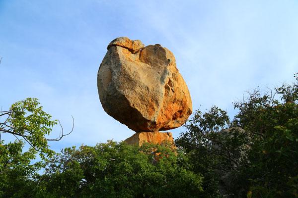 Formation rocheuse surprenante
