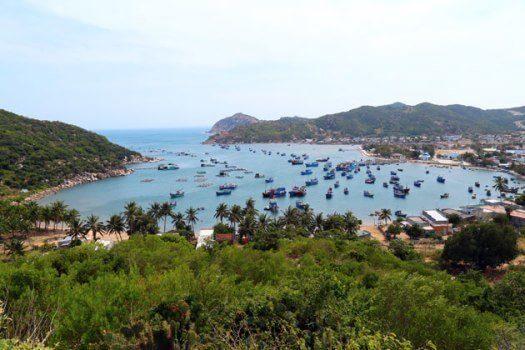 La baie de Vinh Hy