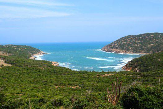 Une côte très sauvage et préservée