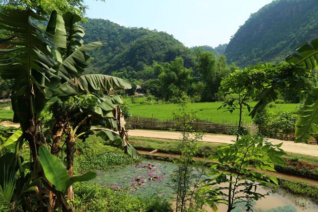... avec une belle vue sur la vallée