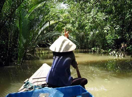 voyage dans le delta du mékong