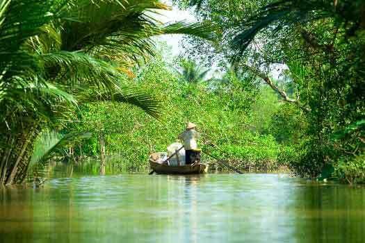 Excursion dans le delta du Mékong