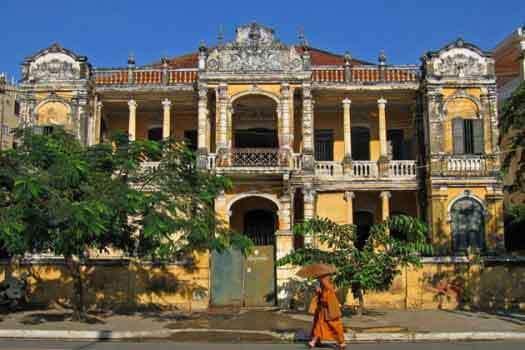 architecture cambodgienne