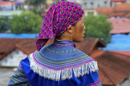 Femme Hmong Y Ty Sapa