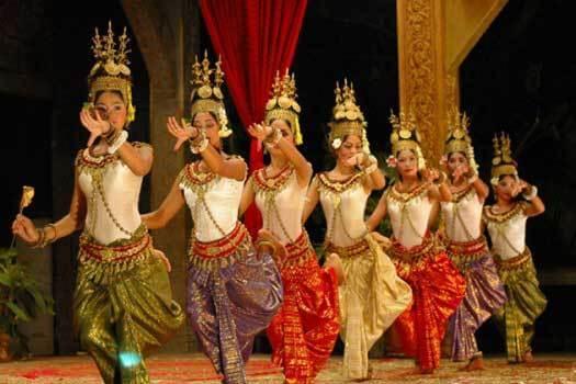 danse khmere cambodge
