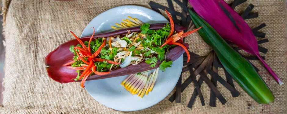 L'utilisation des fleurs dans la cuisine vietnamienne