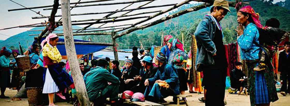marche local ha giang nord vietnam