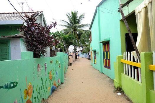 village de fresques