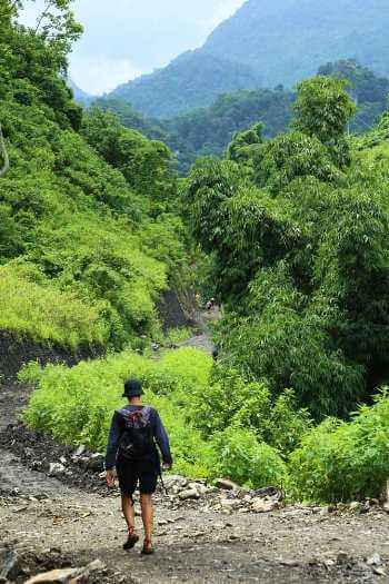 Trekking vert voyageur seul séjour bien-être vietnam