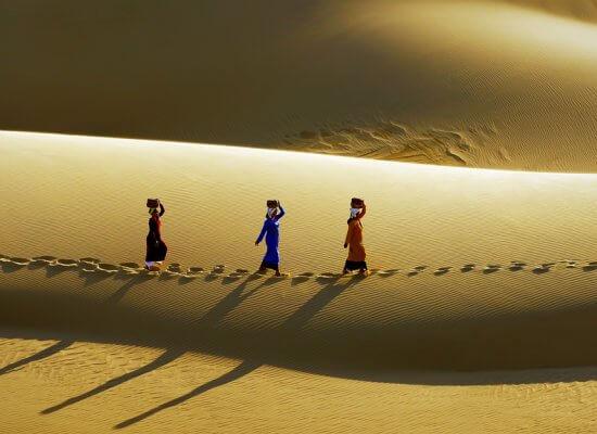 Les fameuses dunes de sable de Mui Ne